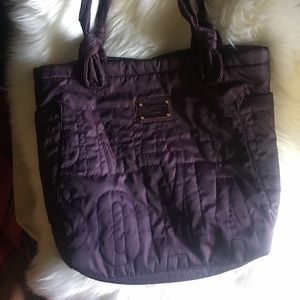 Marc Jacobs Quilted Nylon large tote